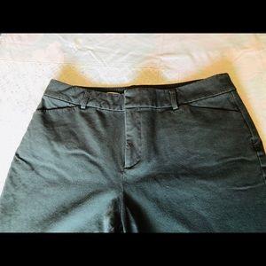 Charter Club Newport Slim Crop Pant, 10 Army Green